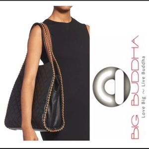 Big Buddha Georgie Quilted Bead tote